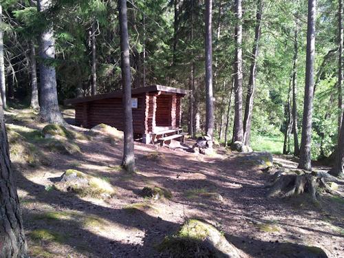 Lägerplatsen vid Bosjön
