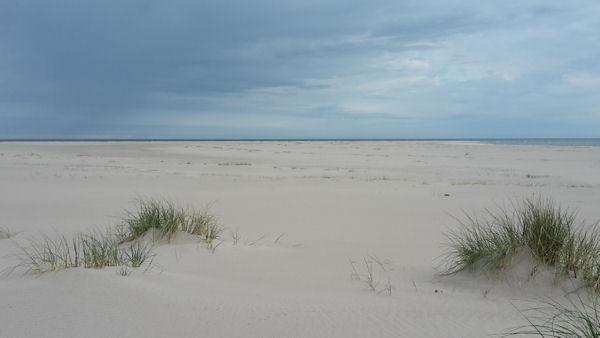 Bredsands udde lämgsti norr påminner en hel del om Skagen men med betydligt färre besökare.